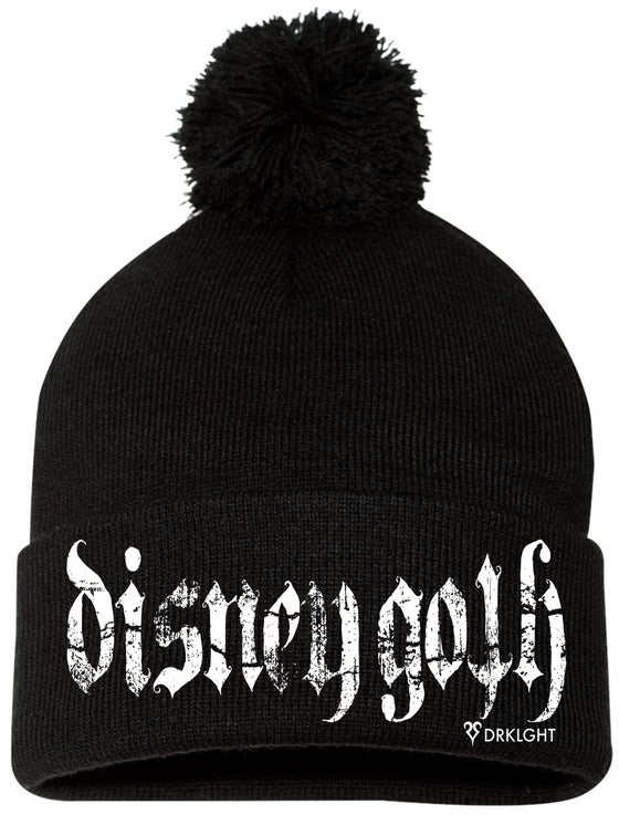 Image of Disney Goth Beanie