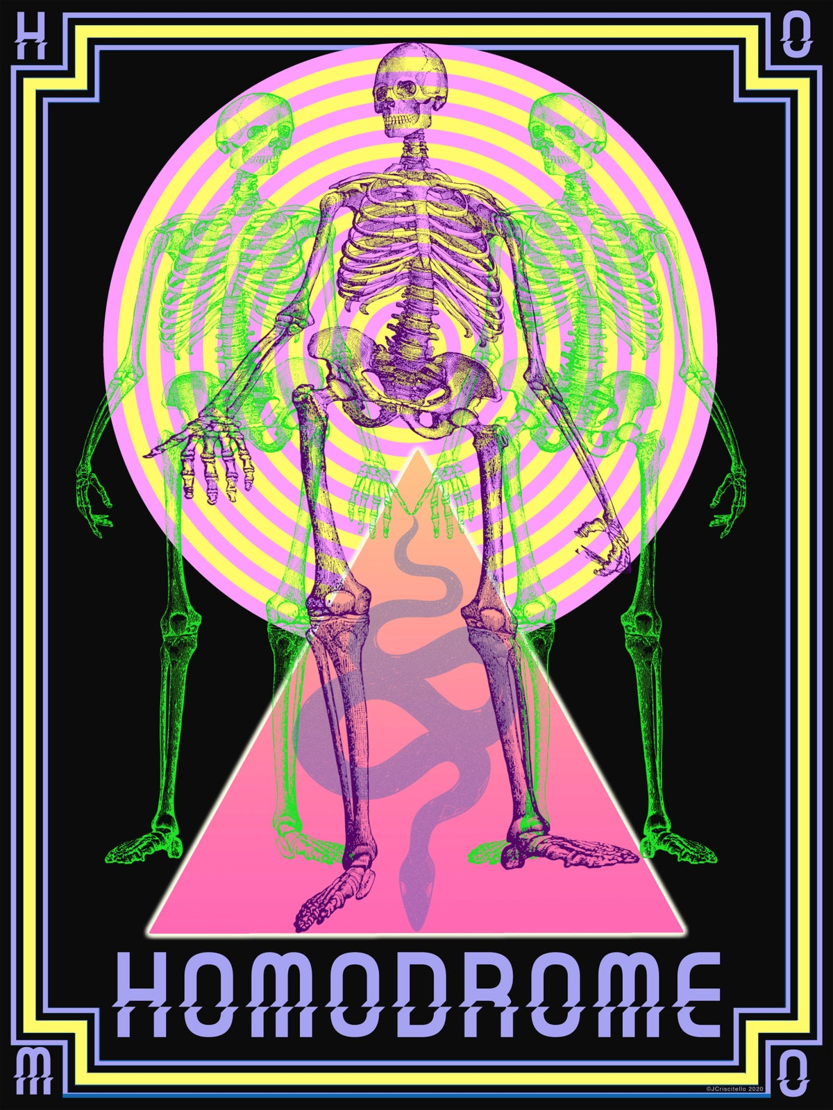 Image of HOMODROME SKELETON POSTER
