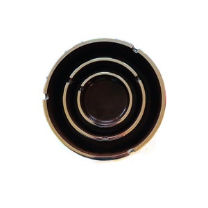 Image of Set of 3 Isamu Kenmochi for Trend Pacific Ashtrays