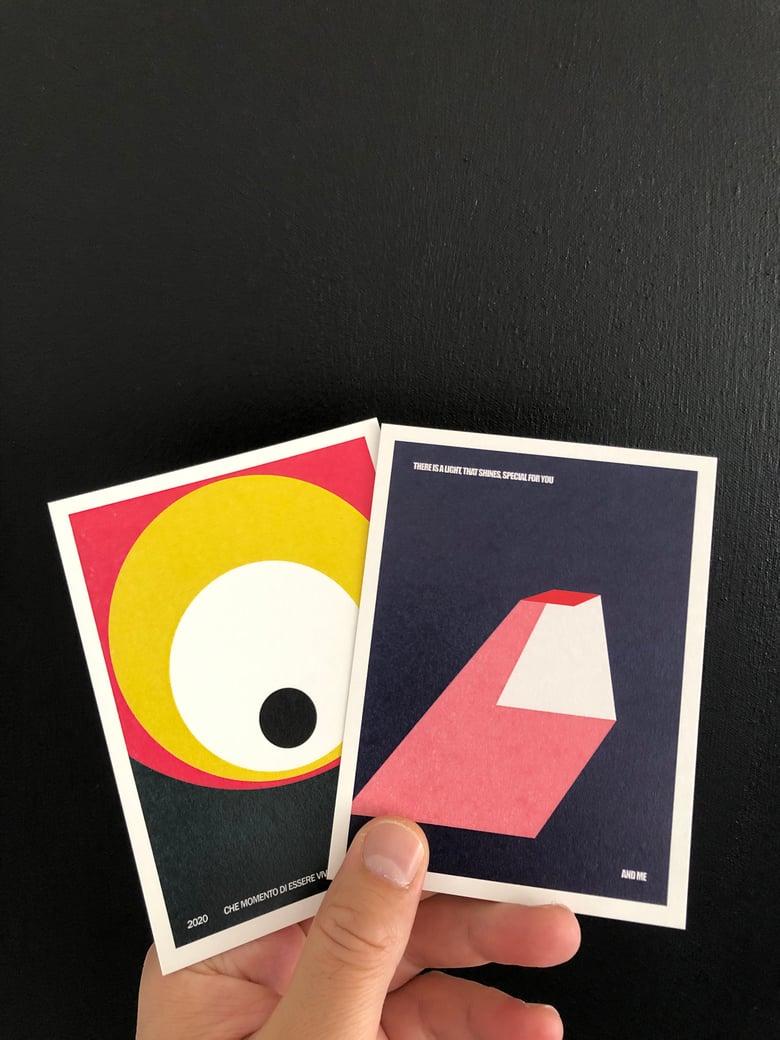 Image of Modern Classic Postcard Pack. The Light & Evil Eye