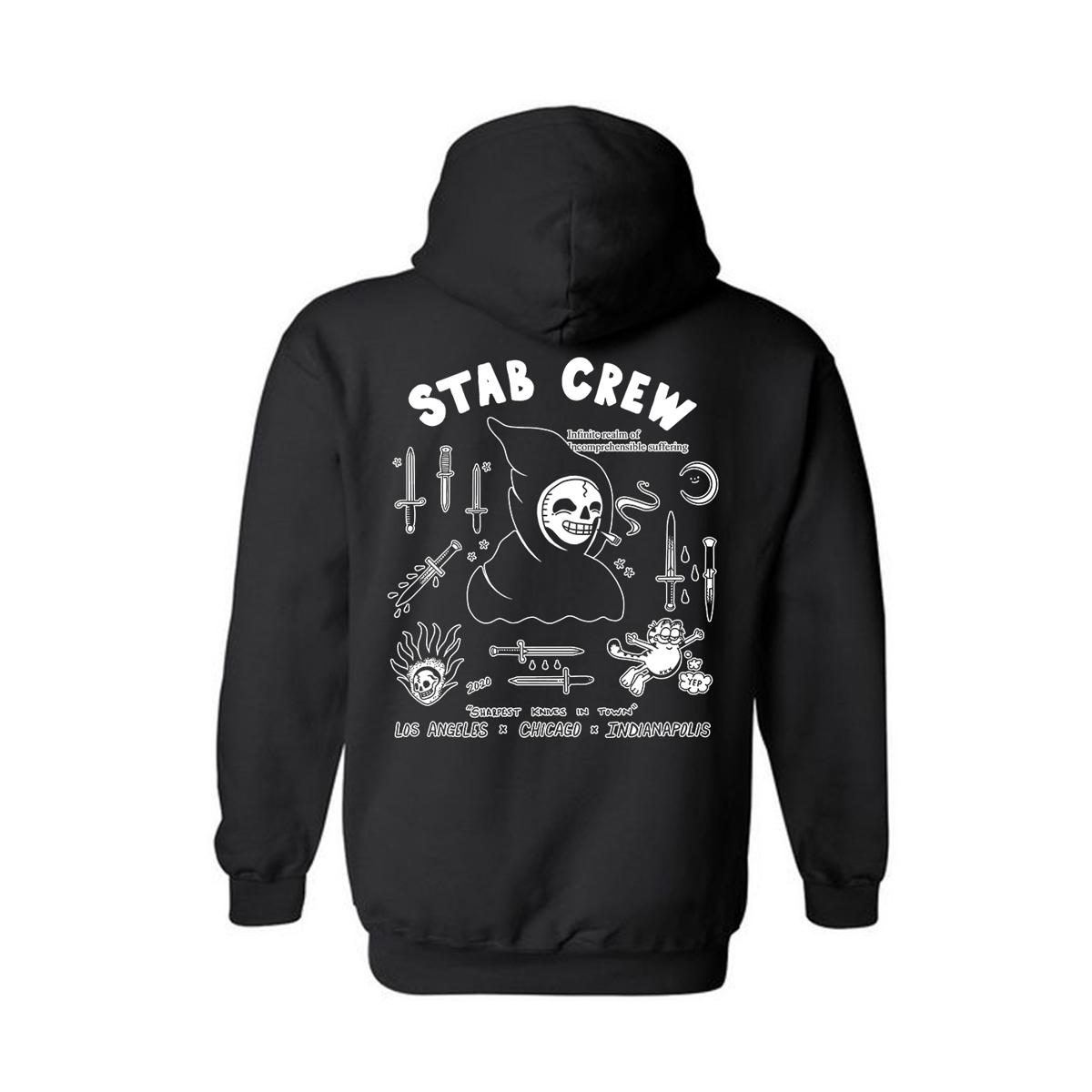 Image of Stab Crew Hoodie (black)
