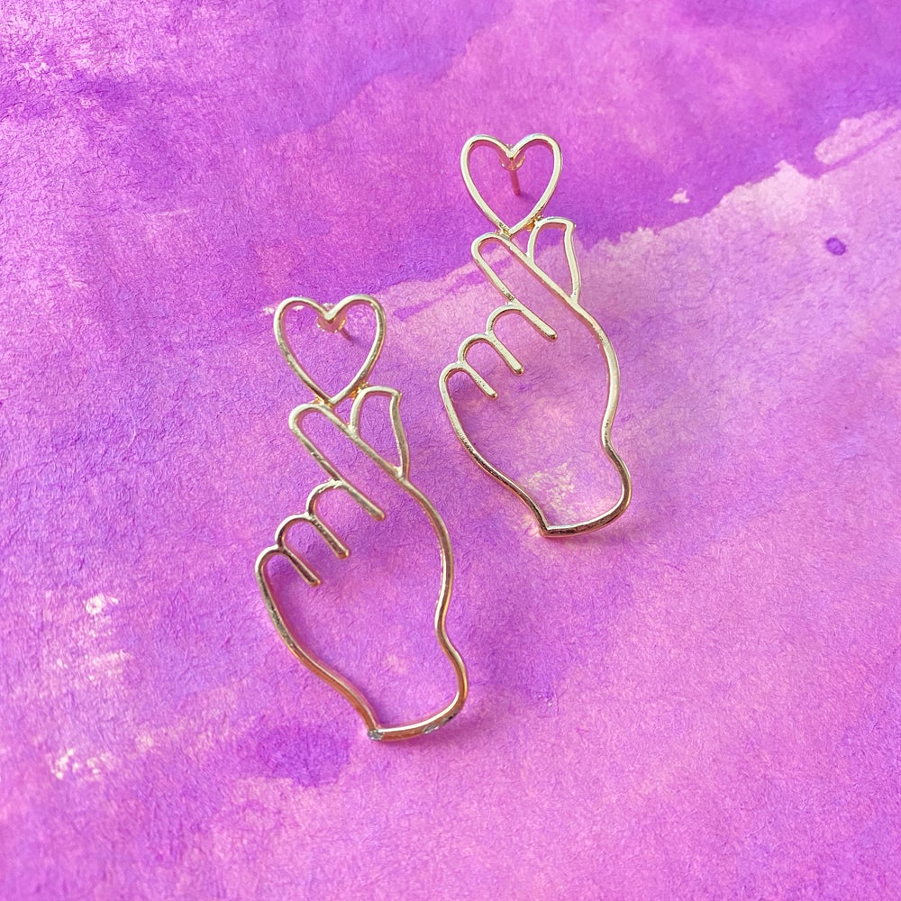 Image of AT YOUR FINGERTIPS EARRINGS