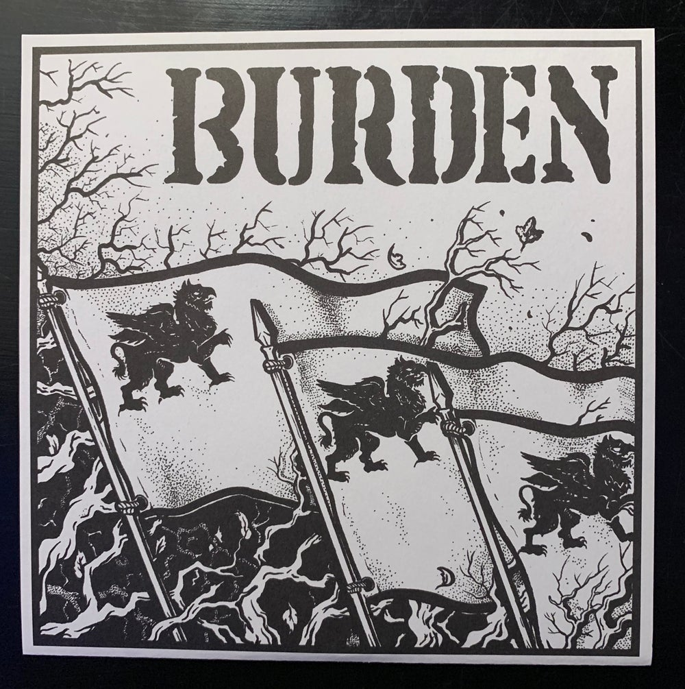 "Burden - Fate Of A Nation - 7"" EP"
