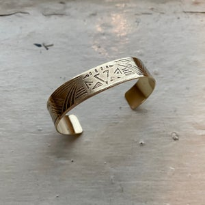 Image of Large cuff bracelet I