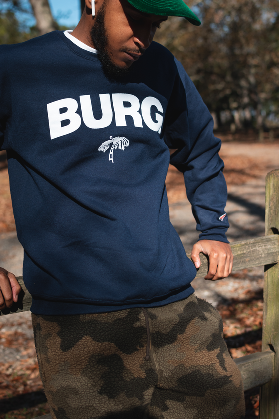 Image of OG Burg Crewneck Sweater