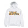14oz Grey Culture Education Hoodie