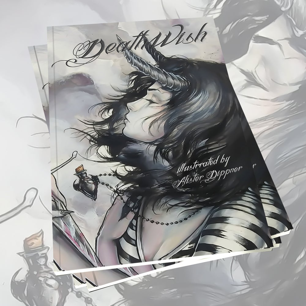 "Image of Preorder Softcover ""Deathwish"" Book"