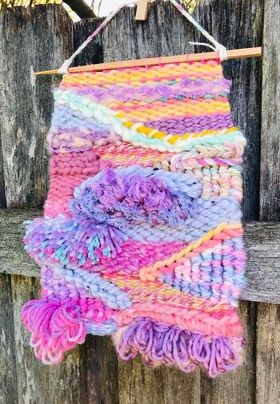 Image of Pretty in Pink Weaving