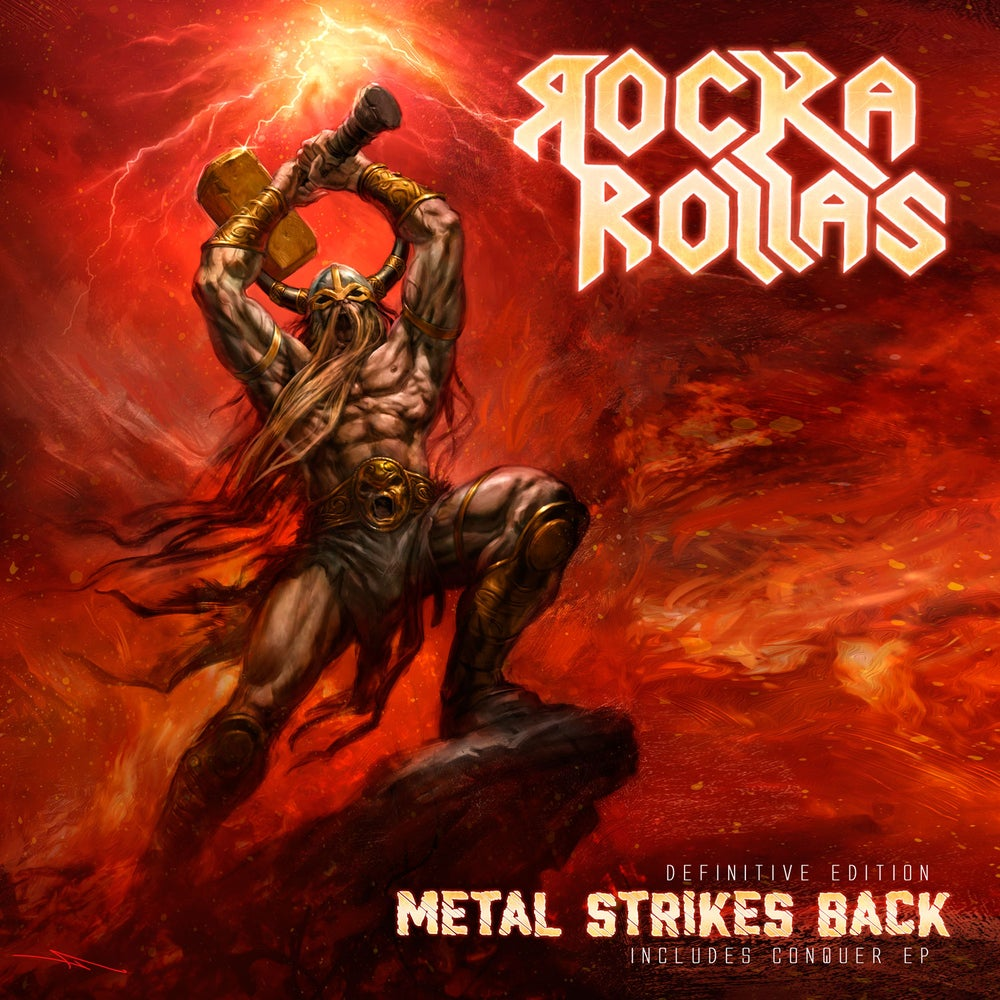 ROCKA ROLLAS - Metal Strikes Back: Definitive Edition CD