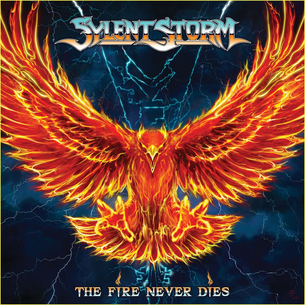 SYLENT STORM - The Fire Never Dies CD