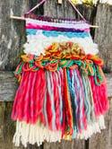 Magical Rainbow Latch Hook Weaving