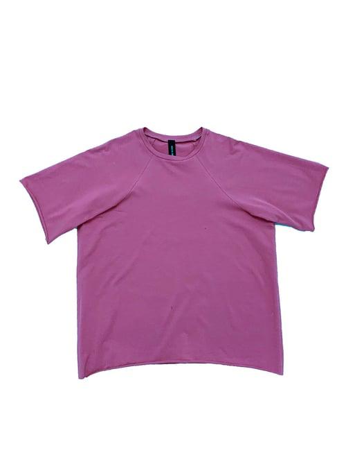 Image of T-shirt 2 - Organic Jersey - Raspberry