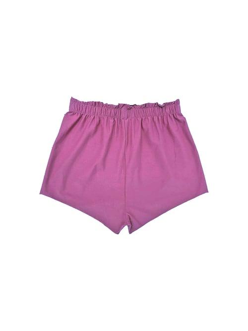 Image of OF1 Shorts - Organic Jersey - Raspberry