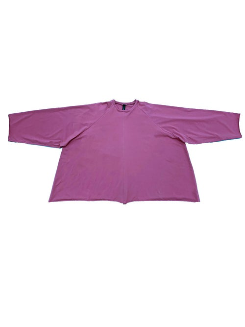 Image of OF1 Blouse - Organic Jersey - Raspberry