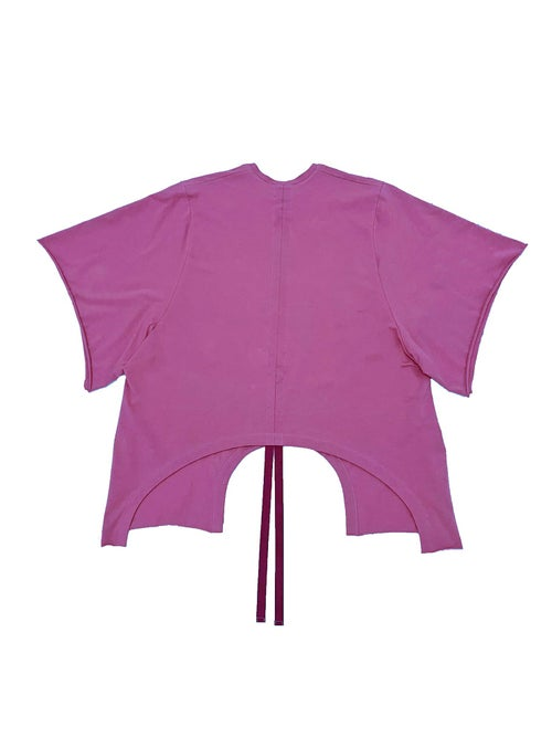Image of Shift Blouse - Organic Jersey - Raspberry
