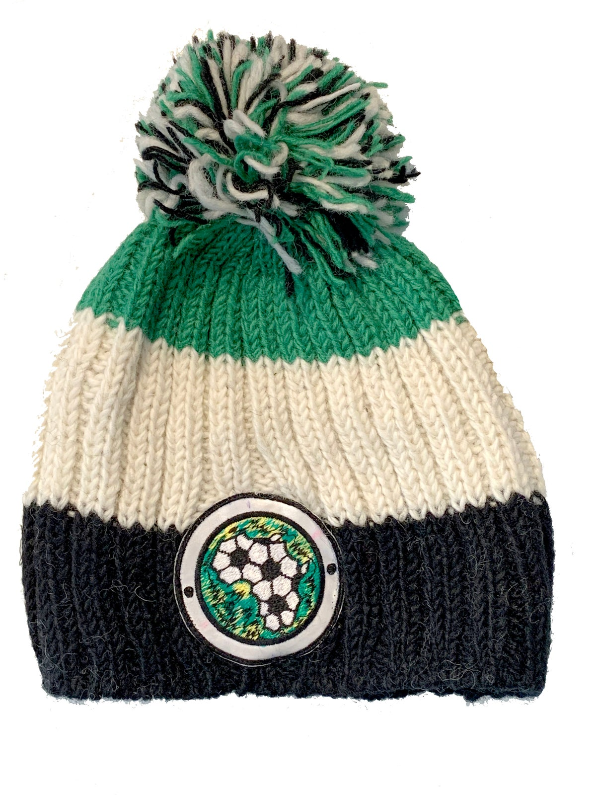 Africa on the Ball Fairtrade Wooly Hat