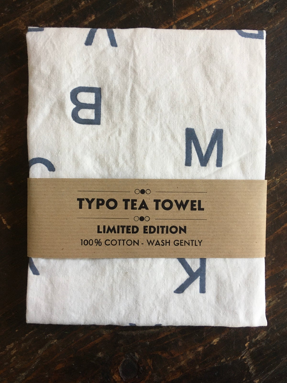 Image of TYPO TEA TOWEL 2