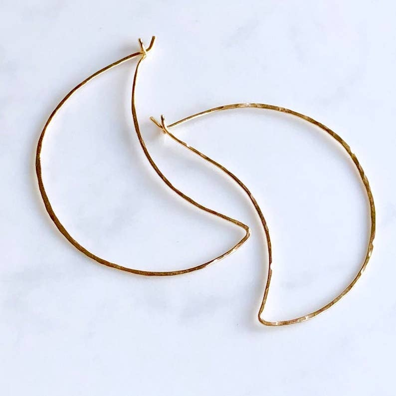 Image of Crescent Hoops