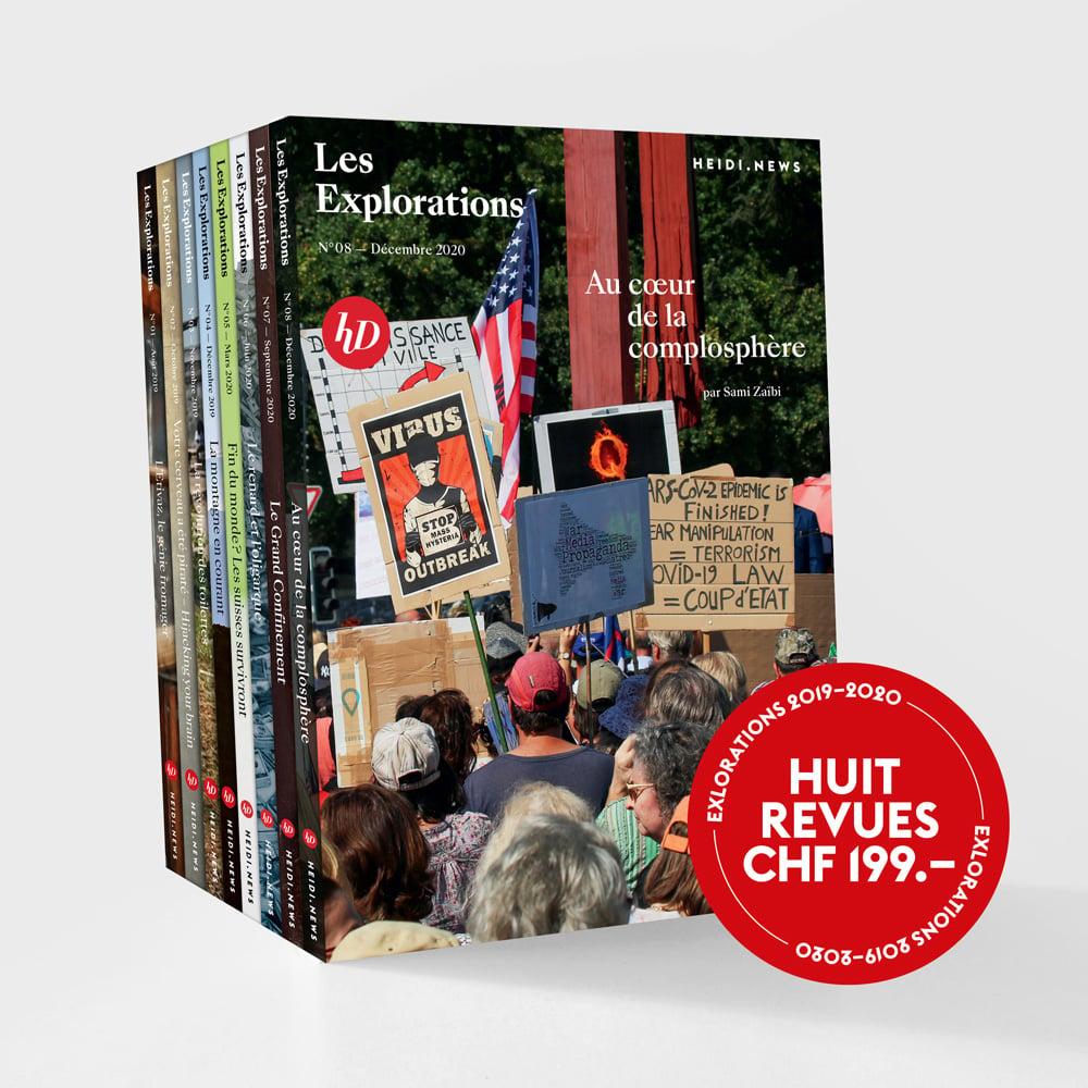 Image of Pack Collector - Les Revues des Explorations (Edition limitée)