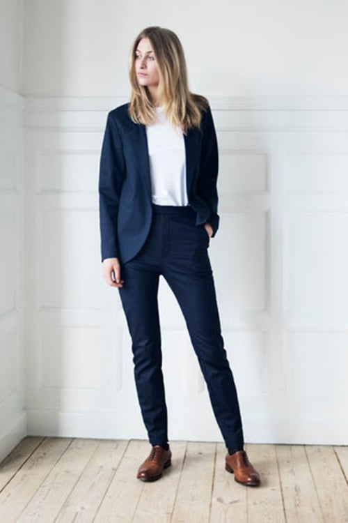 Image of Suit 1 - FULL SET UNISEX - Cotton twill - Dark blue