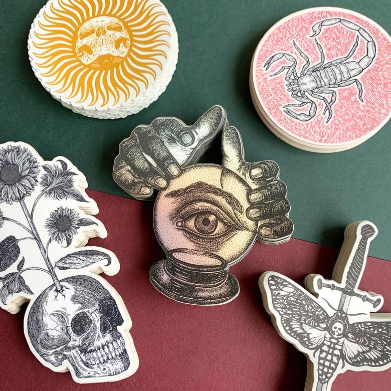 Image of WINTER MAGICK Sticker Set