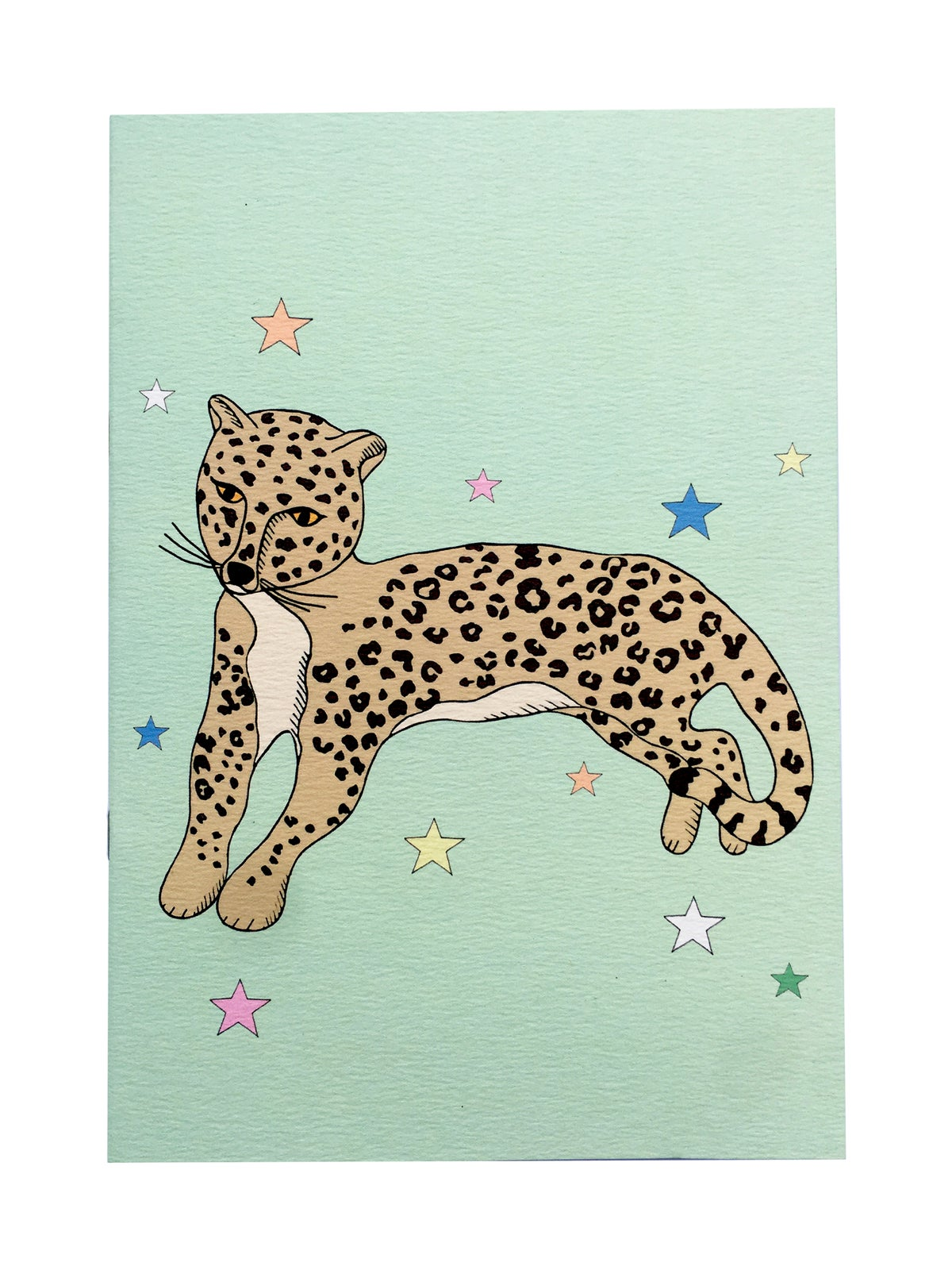Reclining Leopard Notebook