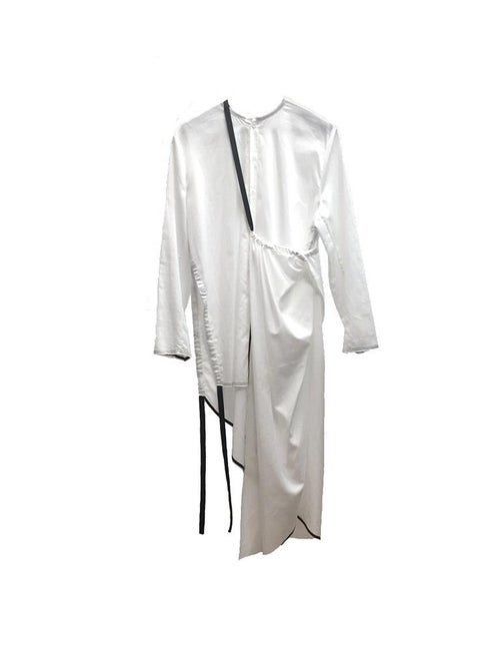 Image of Dress 3 - Organic cotton - White