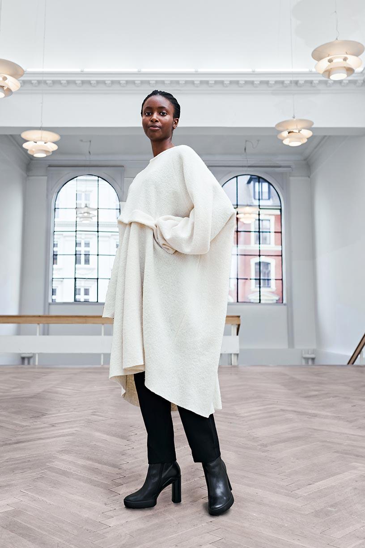 Image of Dress 1 - Organic wool - Off-white