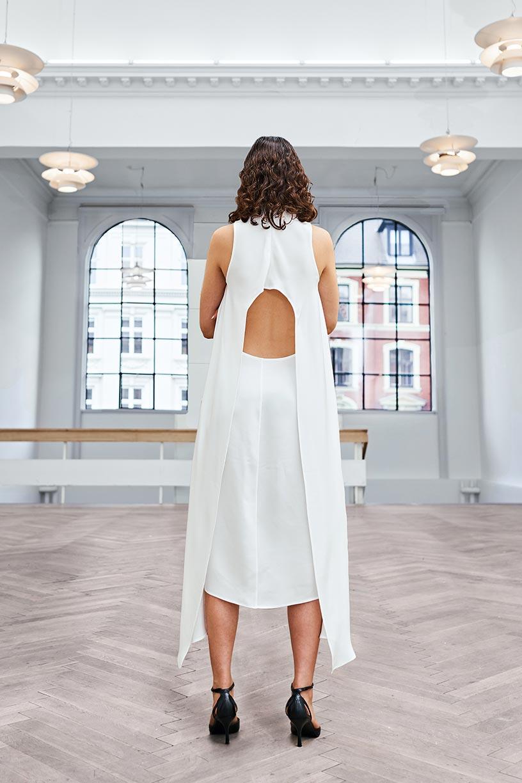Image of Dress 2 - Silk - Ivory