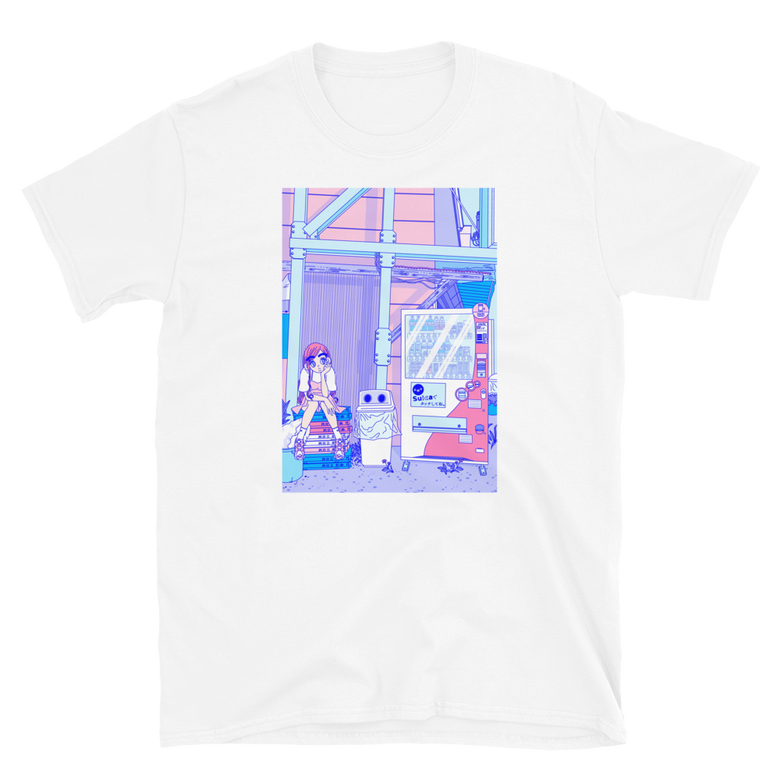 Image of Tokyo neighborhood T-shirt