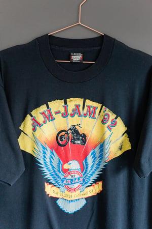 Image of 1992 American Motorcycle Jamboree Tee