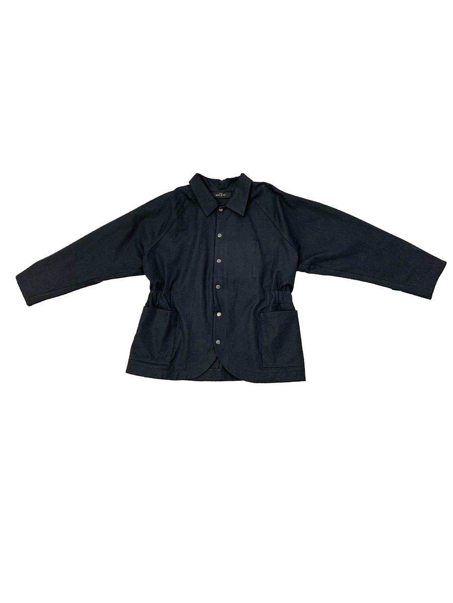 Image of Maja Brix & Aarstiderne - Jacket - Black Cotton