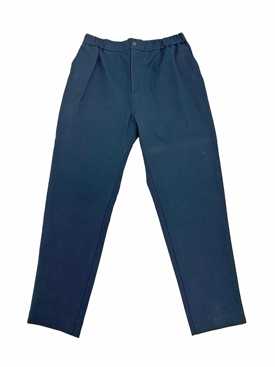 Image of Maja Brix & Aarstiderne - Trousers - Navy Cotton