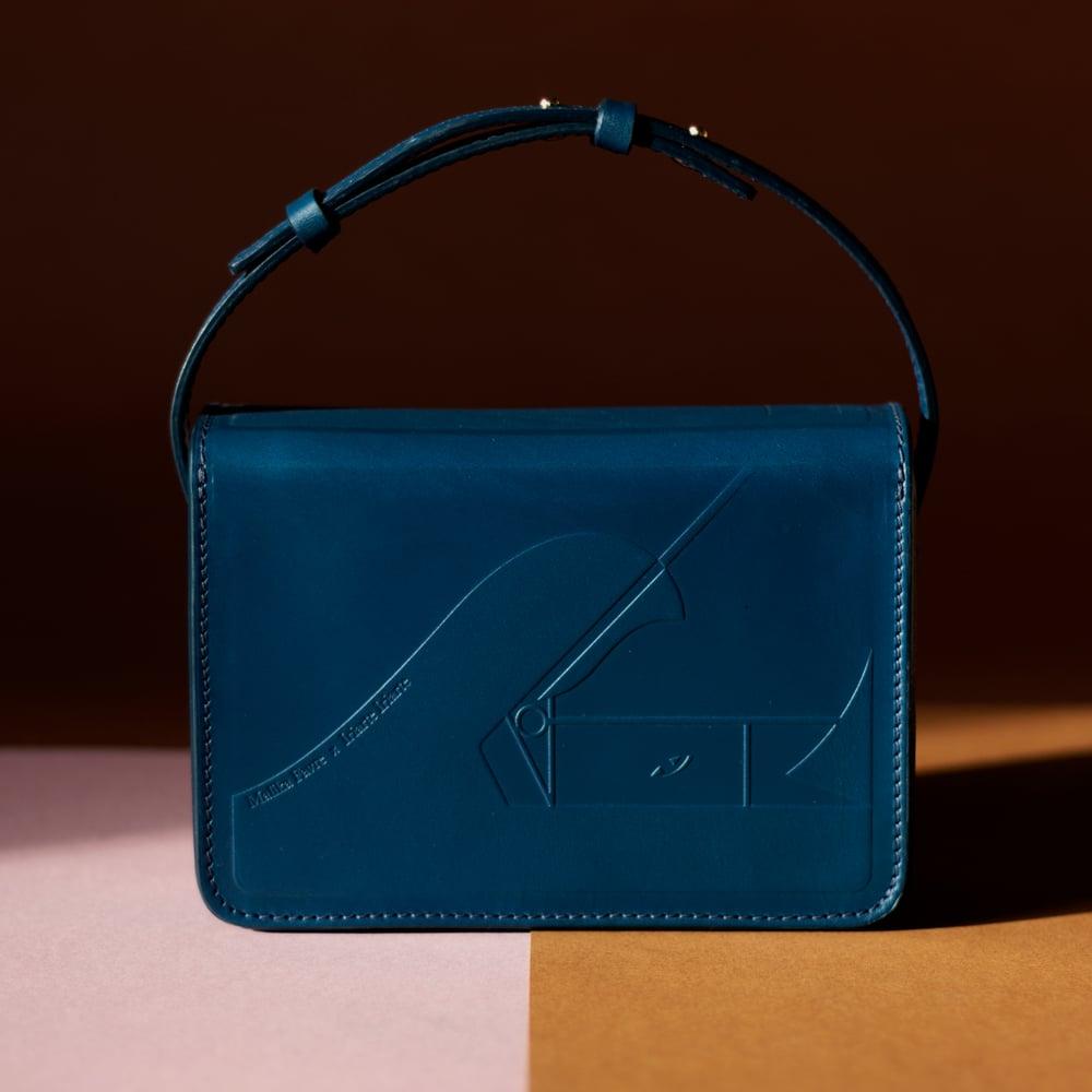 Gee-gee Blue handbag