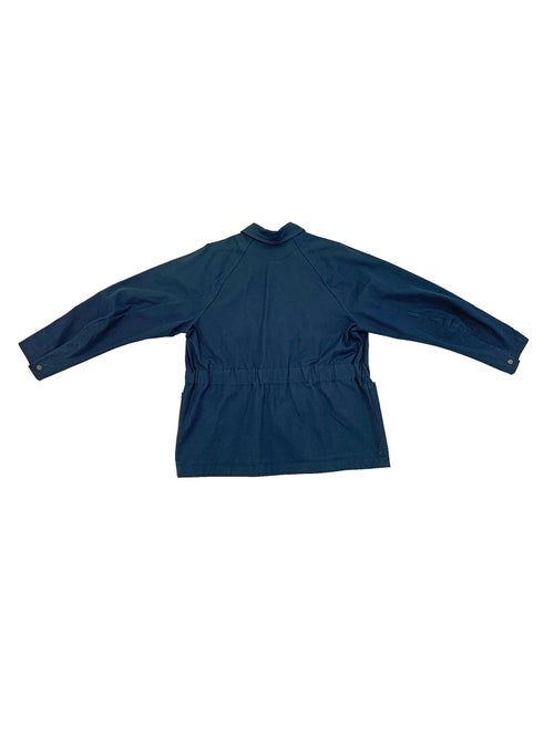 Image of Maja Brix & Aarstiderne - Jacket - Navy Cotton