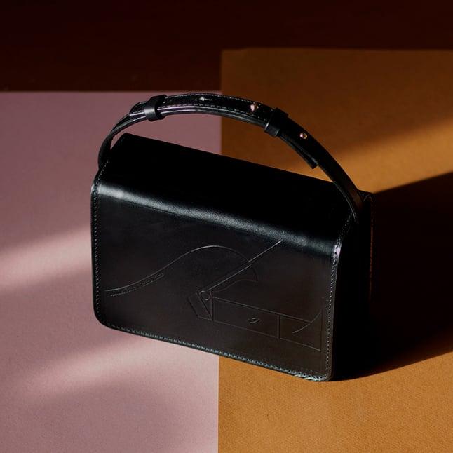 Image of Gee-gee Black Handbag
