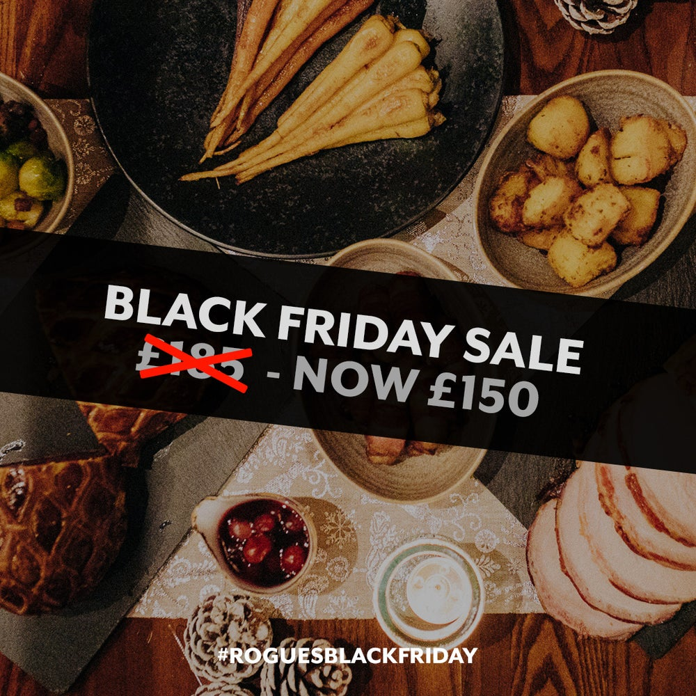 Image of BLACK FRIDAY SALE - £185 Champagne Christmas Dinner for £150