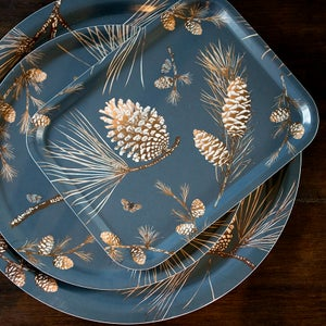 Image of Pine cone tray 36 x 28 cms