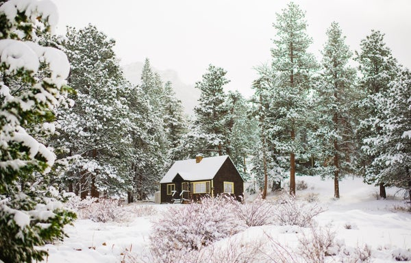 Image of Winter Cabin Prints