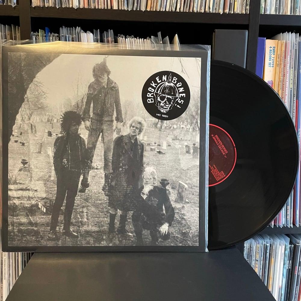 """BROKEN BONES """"A Single Decade"""" LP"""