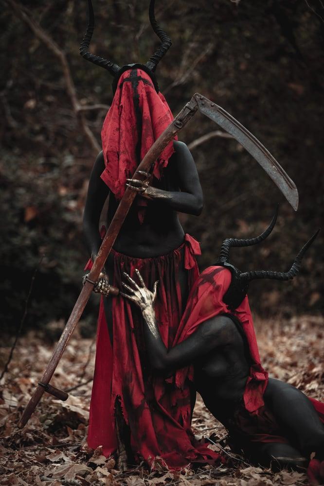 Image of Crimson bliss - red reaper costume