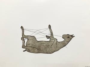 Image of Art print - Cats cradle
