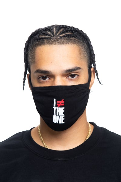 Image of I AM NOT THE ONE Face Mask