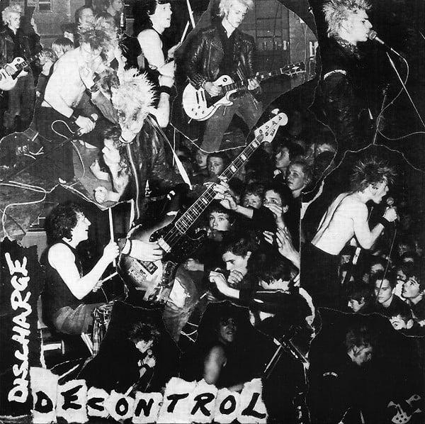 """DISCHARGE """"Decontrol"""" 7"""" EP"""