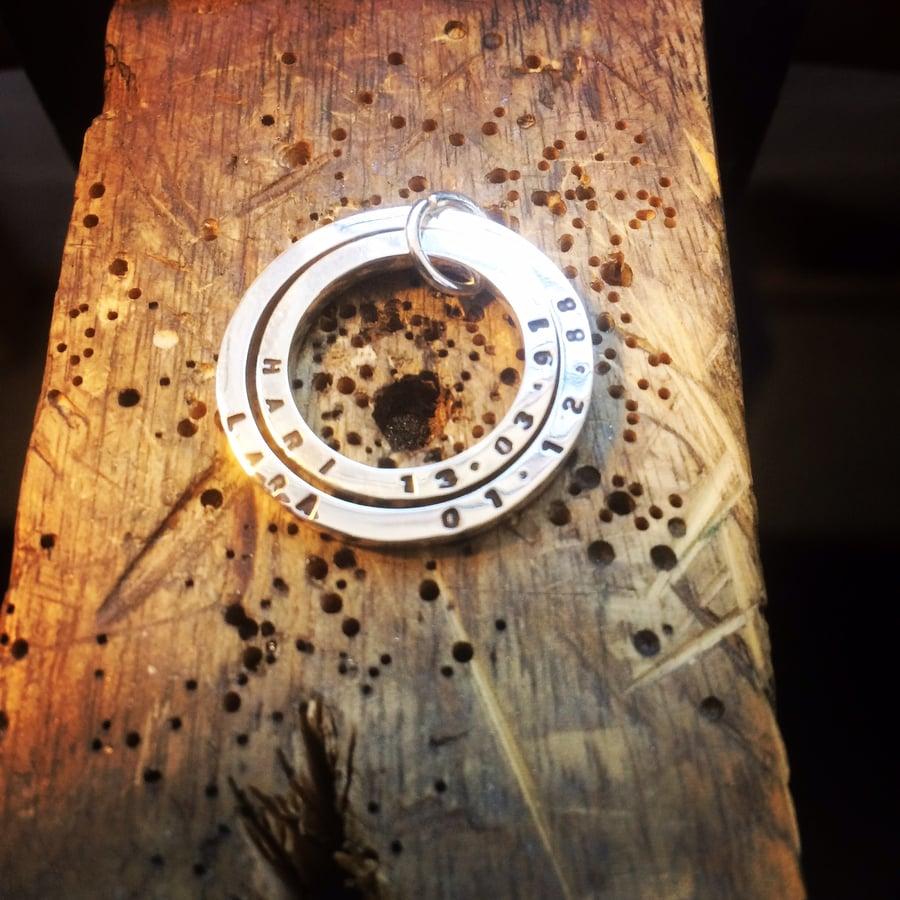 Image of Personalised pendant