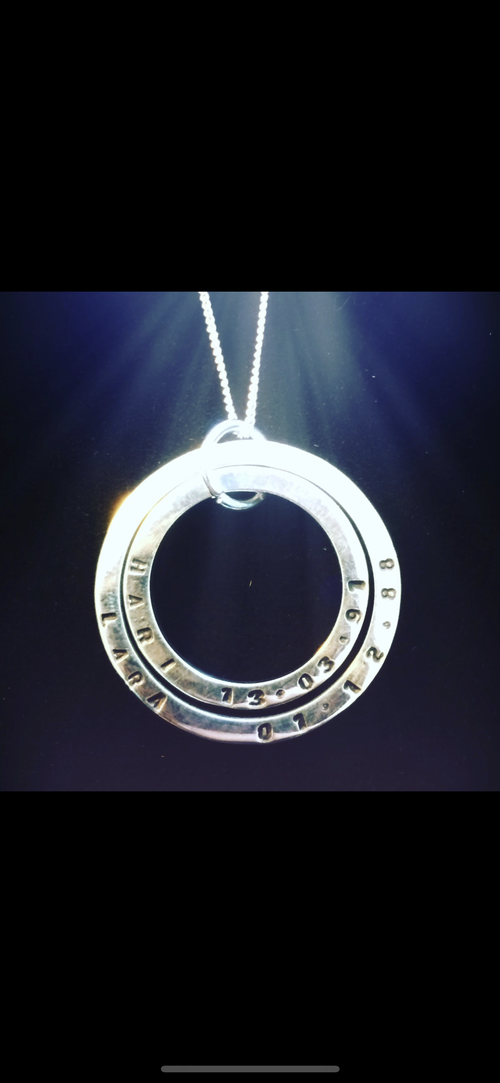 Image of Personalised pendant