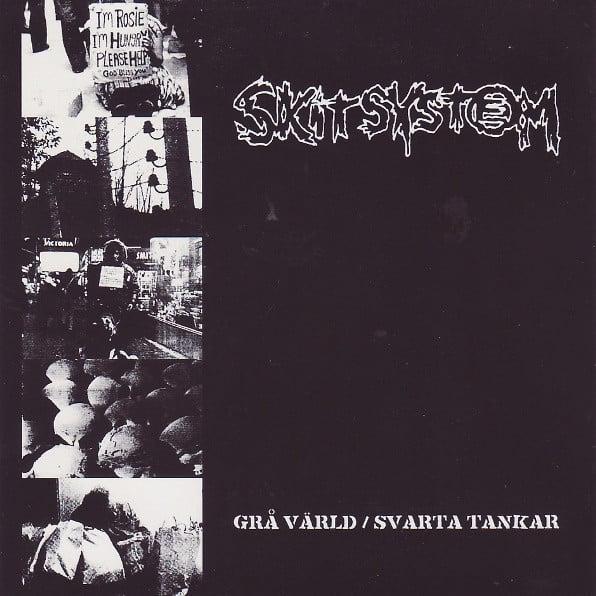 """SKITSYSTEM """"Gra Varld / Svarta Tankar"""" LP"""