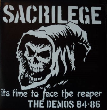 "SACRILEGE ""It's Time To Face The Reaper: The Demos"" 2LP"