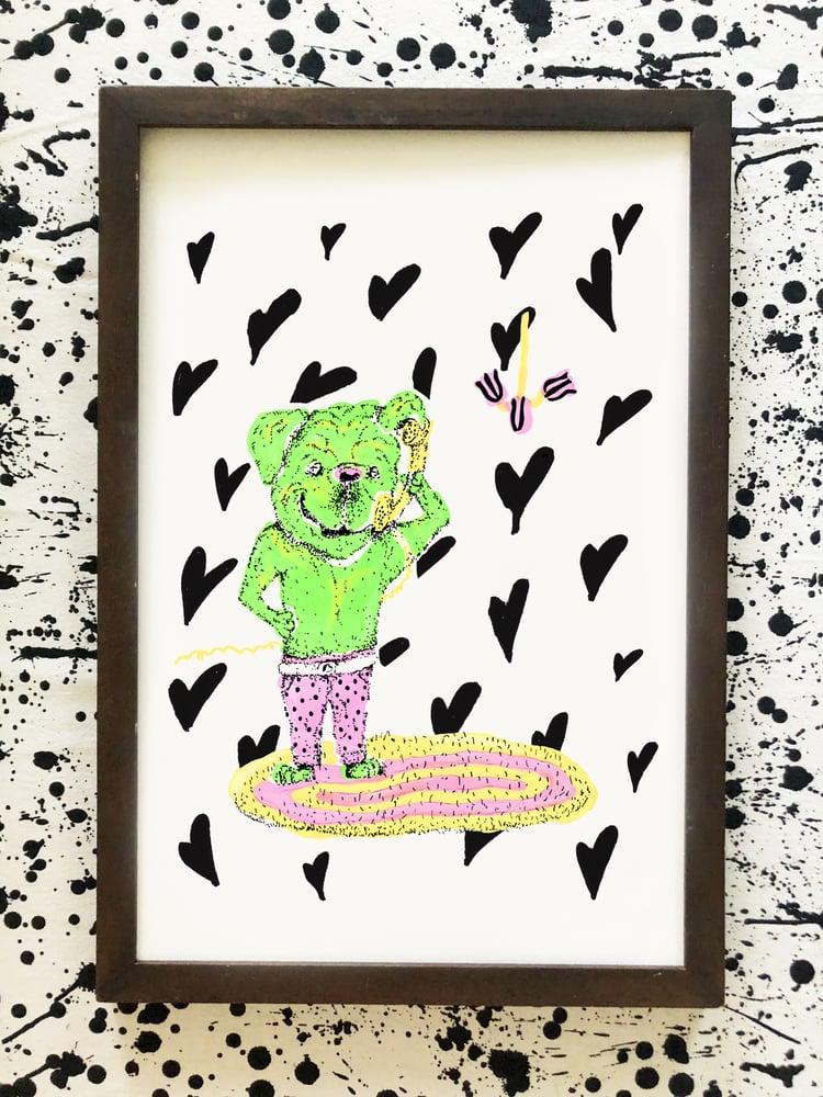 Image of Doggy Love Print
