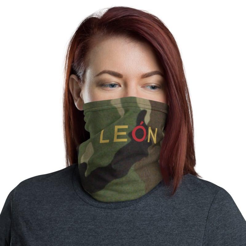 Image of León Face Mask -Camo (Gaiter)